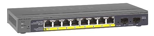 75 opinioni per Netgear GS110TP-200EUS ProSafe Switch Smart Pro Gigabit PoE, 8 Porte PoE