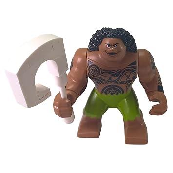 Amazon.com: LEGO Disney: Moana MiniFigure - Maui (with Magical Fish ...