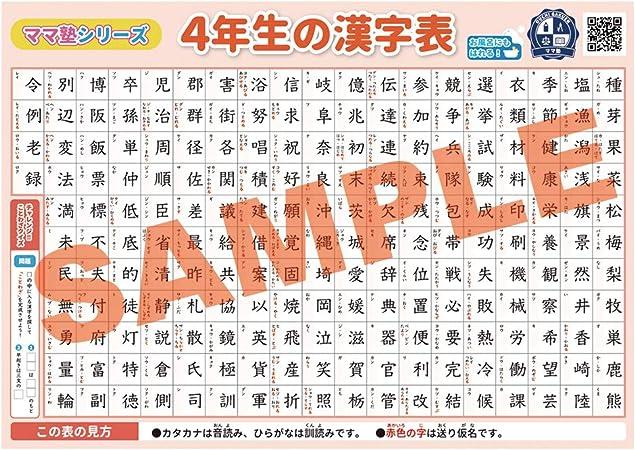年生 漢字 4 の 書いて覚える小学3・4年生の漢字402 令和版