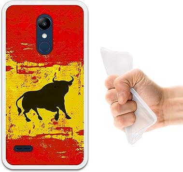 WoowCase Funda LG K11, [LG K11 ] Funda Silicona Gel Flexible Bandera España y Toro, Carcasa Case TPU Silicona: Amazon.es: Electrónica