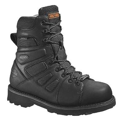 Harley-Davidson Men's FXRG-3 Boots & Knit Cap Bundle