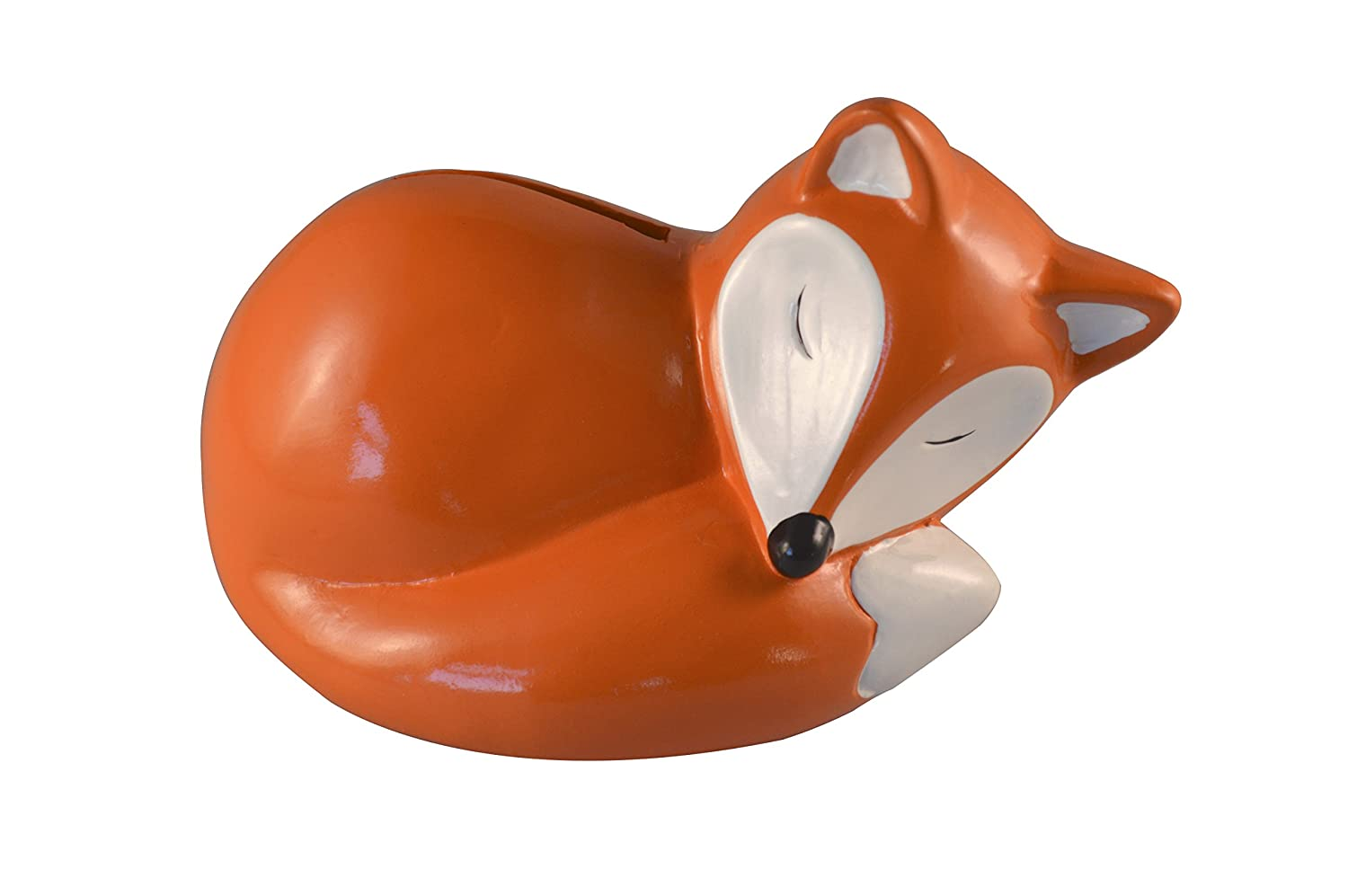 Cute sleeping fox animal money box gift home decoration Jones Home and Gift