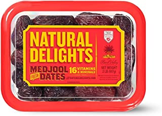 product image for Bard Valley Natural Delights Medjool Dates (2 lb.) (pack of 6)