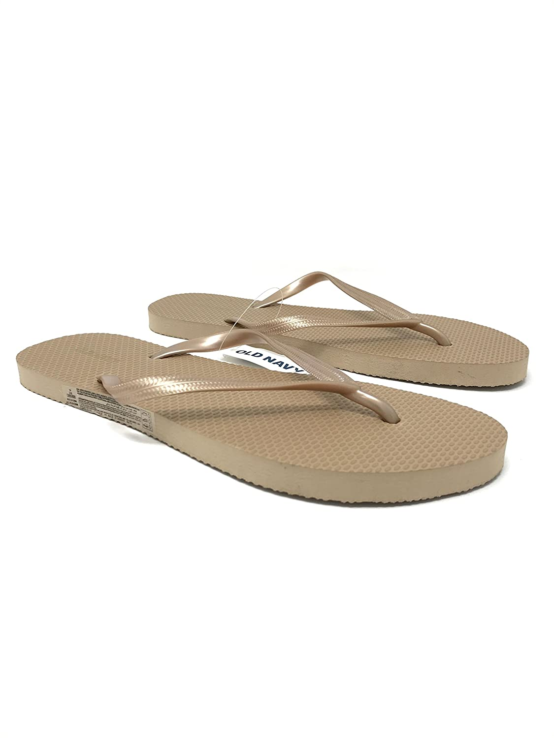 Amazon.com: Old Navy Flip Flop Sandals for Woman, Great for Beach or ...