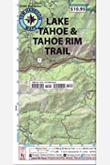 Lake Tahoe & Tahoe Rim Trails (Tom Harrison Maps) Map