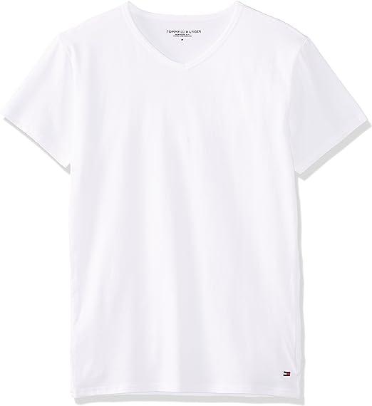 Tommy Hilfiger Mens T-Shirt Pack of 3
