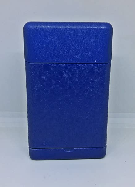 Amazoncom Fujima Tin Blue Metallic Design King Size Cigarette Case