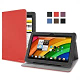 Cover-Up Acer Iconia A3 / A3-A10 (10.1-inch) Tablet Version Stand Cover Case - Red