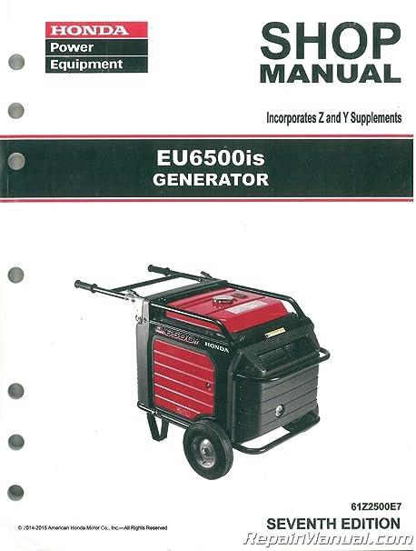 honda generator 6500 owners manual free owners manual u2022 rh wordworksbysea com honda em6500 service manual Honda ES6500 Generator
