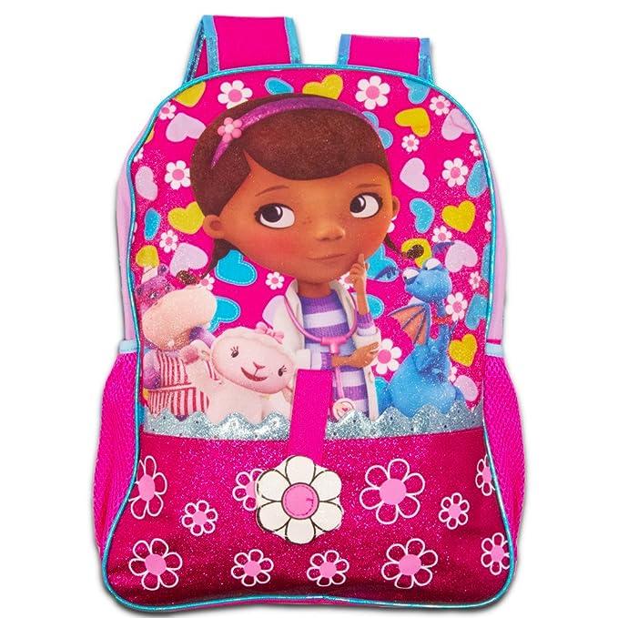 343c6cf9320 Disney Doc McStuffins Backpack for Girls Kids