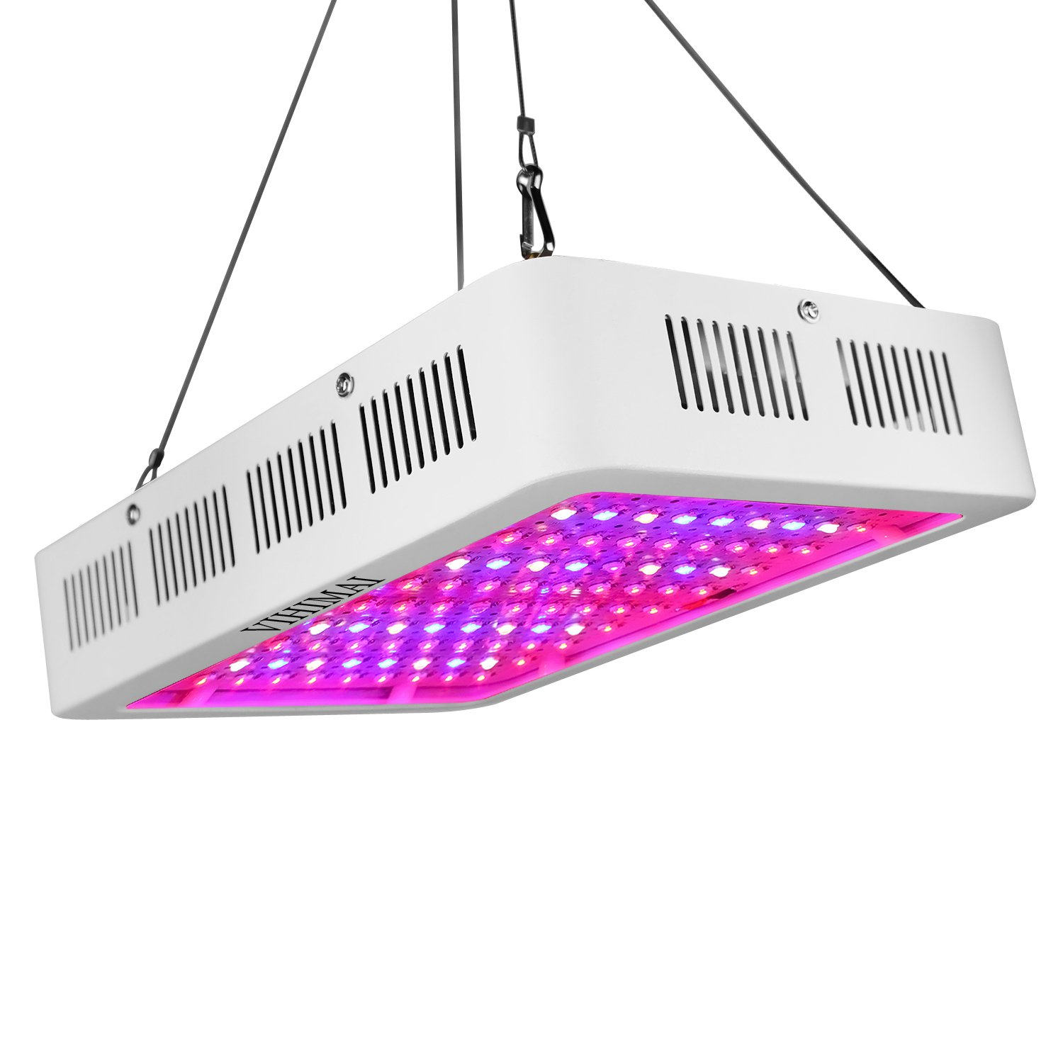 VIHIMAI LED Grow Light 1000w, Double Chips/ Full Spectrum with UV and IR for Indoor Plant Greenhouse Hydroponic Veg and Flower …