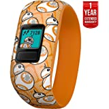 Beach Camera Garmin Vivofit jr. 2 - Stretchy Adjustable Activity Tracker for Kids + 1 Year Extended Warranty (BB-8)
