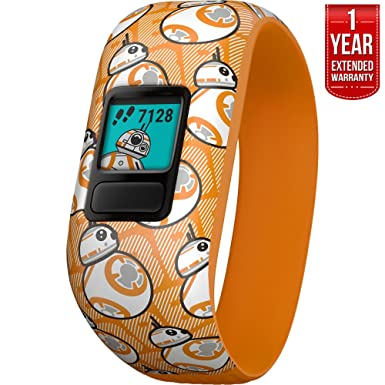 Beach Camera Garmin Vivofit jr. 2 – Stretchy Adjustable Activity Tracker for Kids 1 Year Extended Warranty BB-8