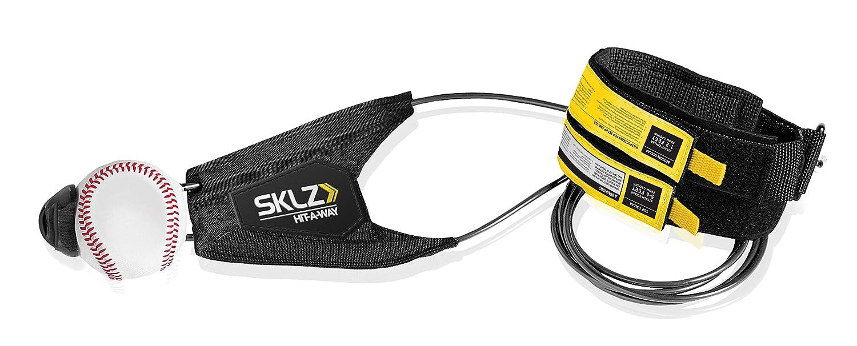 SKLZ Hit-A-Way Swing Trainer für Baseball und Softball–verbessern Sie Ihre Vlies Power, Tempo, TIMING, und Vertrauen, entwickeln Swing Mechanik, Simuliert Real Stellplätze, Get Stunden of Swing Training