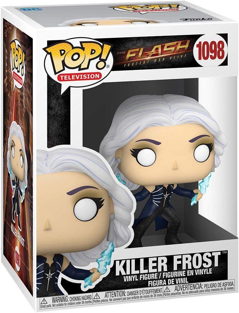 DC Comics: The Flash TV Series Vinyl Figure Killer Frost Funko Pop Includes Compatible Pop Box Protector Case