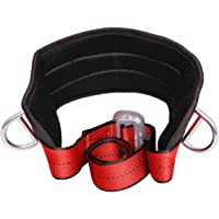 Xben Portable Safety Belt Fall Arrest Kit, With Hip Pad and 2 D Rings, Personal Protective Equipment Safety Climbing Harness