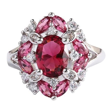 7fc1ed0299 Bangle009 Le dernier élégant Style Princesse Ovale Marquise Strass Mariage  Bague de fiançailles Lady, 1
