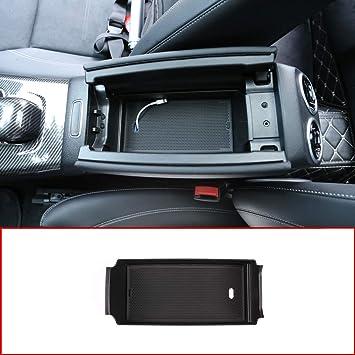Car Storage Box Multifunction,Auto Center Console Organizer Tray Armrest Container Fit for Chevy Silverado GMC Sierra Yukon 2015-2018