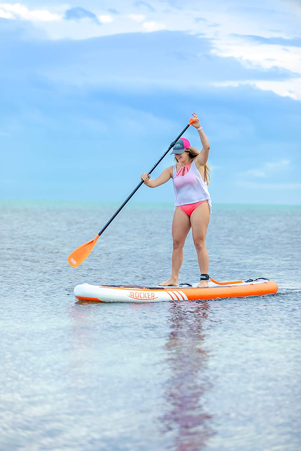 iROCKER Cruiser Inflatable Stand Up Paddle Board 106