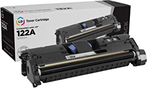 LD Remanufactured Toner Cartridge Replacement for HP 122A Q3960A (Black)