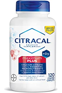 Citracal Maximum, Highly Soluble, Easily Digested, 630 mg Calcium Citrate With 500 IU