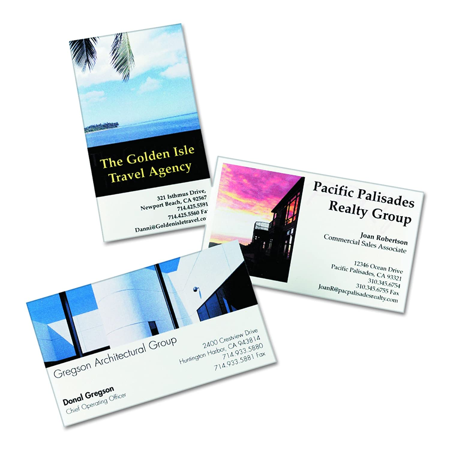 Amazon avery glossy photo quality business cards for inkjet amazon avery glossy photo quality business cards for inkjet printers 8373 inkjet printer paper office products magicingreecefo Image collections