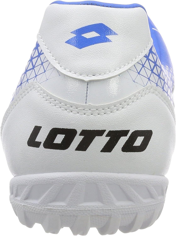 42 EU Scarpe da Calcetto Indoor Uomo Blu ATL//Wht 010 Blu Lotto Spider 700 XV TF