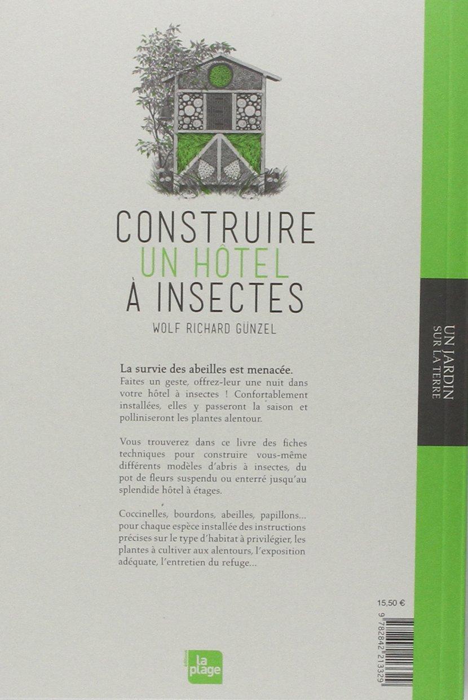 Construire une maison insectes - Hotel a insectes ...