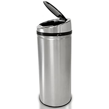 Attractive ITouchless Automatic Touchless Sensor Kitchen Trash Can   Stainless Steel U2013  13 Gallon / 49 Liter