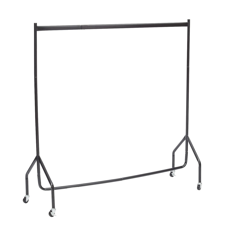 DIRECT ONLINE HOUSEWAR 1,5m de hauteur x 1,5m de long de qualité en acier résistant à vêtements Rail Noir (le Lendemain Service Disponible) RICOMEX UK LTD