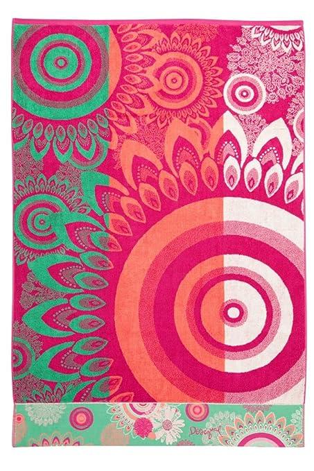 Desigual Margarita - Toalla de ducha (100 x 150 cm)