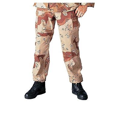 Amazon Com Rothco Bdu Pants Military Fatigues Desert Camouflage
