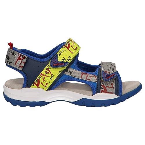 2882d540 Geox J Borealis Boy A - Sandalias Niños: Amazon.es: Zapatos y complementos