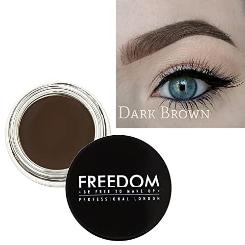 Freedom Makeup Eyebrow Definition Brow Pomade Dark Brown