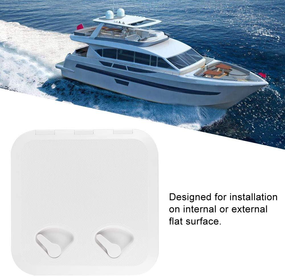 Outbit Tapa de escotilla de Cubierta Anti-UV Square Marine Cubierta de escotilla de Cubierta Yate RV Barco Accesorios RE-370-375