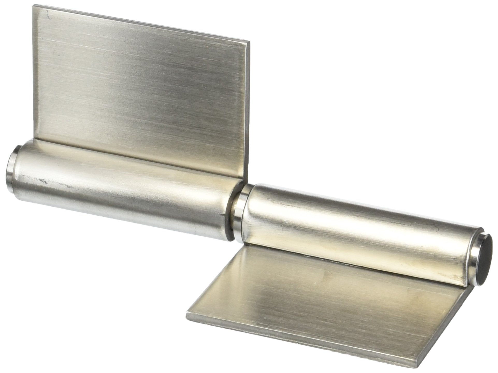 Sugatsune S-6166-6-R Weld On Lift Off Hinge, Stainless Steel 304, Brushed Finish, Right Handedness, 3mm Leaf Thickness, 110mm Open Width, 18mm Pin Diameter, 152mm Height
