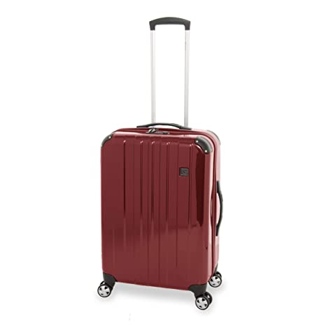 b1fd46021 Eminent Suitcase Vincent 68 cm 50 L 4 Wheels Ruby Number Lock:  Amazon.co.uk: Luggage
