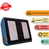 SanketLife - World's Smallest, Medical grade, portable,12 Lead ECG, Heart Rate and Stress Monitor with free Interpretation