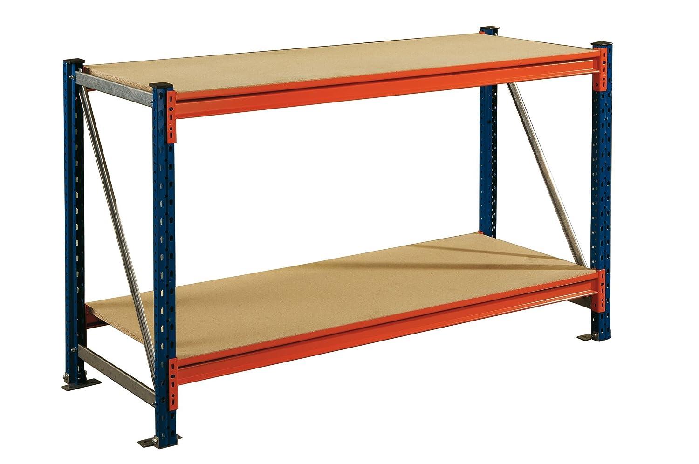 Etabli d atelier 2 étages profondeur 100 cm  Amazon.fr  Bricolage 6c49435ac663