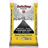 Safe Step Rock Salt Ice Melter Sodium Chloride (Rock Salt) Melts Ice Down to 5 F / -15 C 25 Lbs.