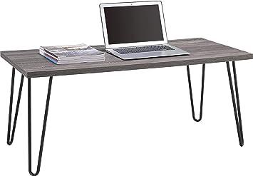 Amazon.com: Mesa de centro con patas de metal retro ...