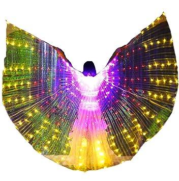 Gradiente LED ISIS Wings Mujer Chicas Alas de Danza del Vientre ...