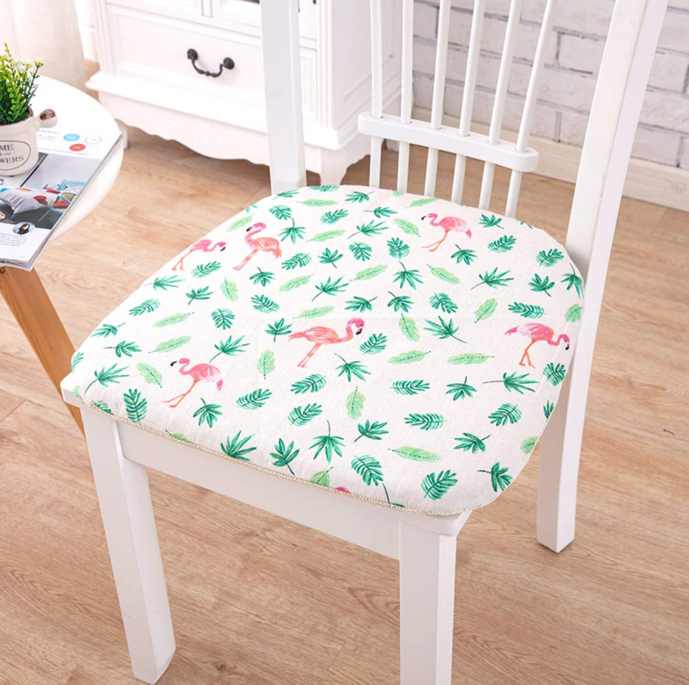 Amazon Peacewish Floral Chair Pads For Dining Chairs Home Kitchen Office Sofa Seat Pad Cushion Flower Set Of 4