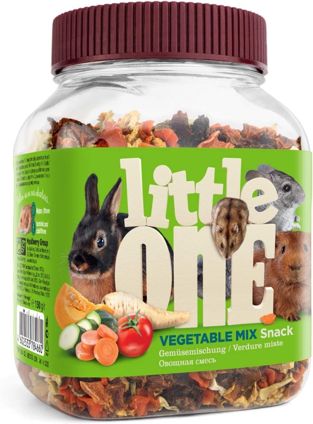 Little One Mezcla de Verduras Snack, 150 g