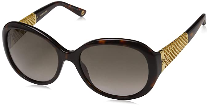 b69c563917 Image Unavailable. Image not available for. Colour  Gucci Women s 3693  Tortoise   Gold Frame Brown Gradient Lens Plastic Sunglasses