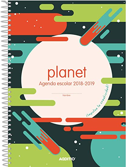 Additio A122 - Agenda Planet 2018-19 para educación primaria ...