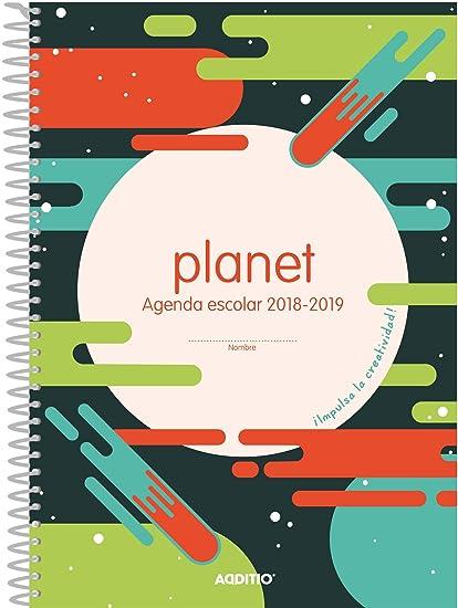 Additio A122 - Agenda Planet 2018-19 para educación primaria ...