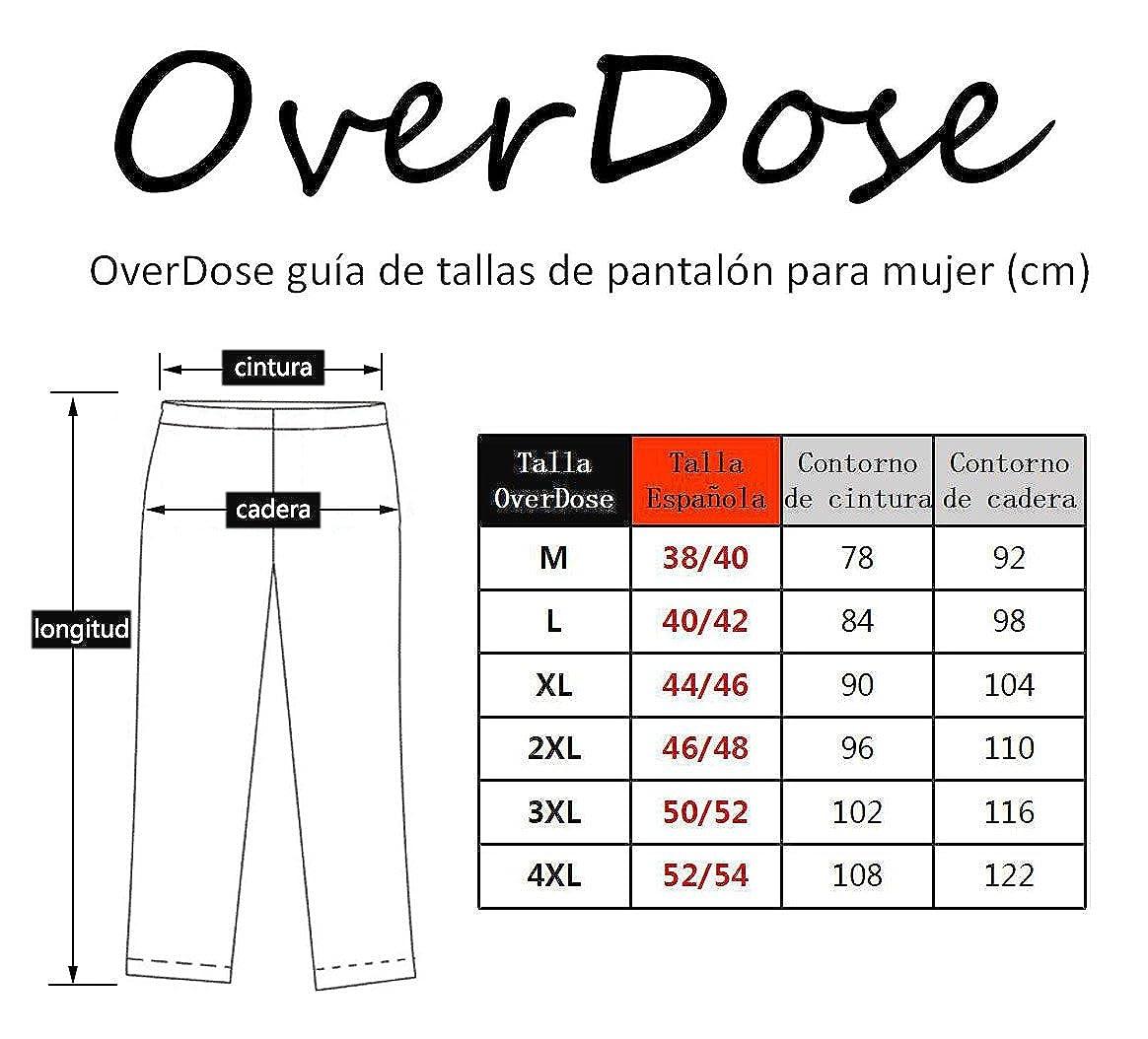 OverDose leggings mujer yoga deportivos fitness pantalones largos: Amazon.es: Ropa y accesorios