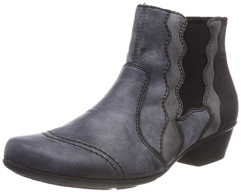 Rieker women ankle boot blue Y7360 14