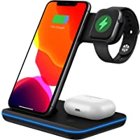 Wireless Charger 3 in 1 Wireless Charging Station Z5A 15W for Apple Watch, AirPods Pro/2, QI certification Magnetic…